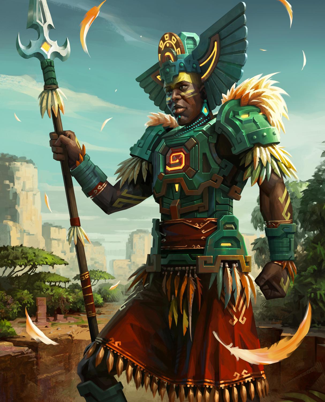 War Dragons Portrait - Shroud Guard