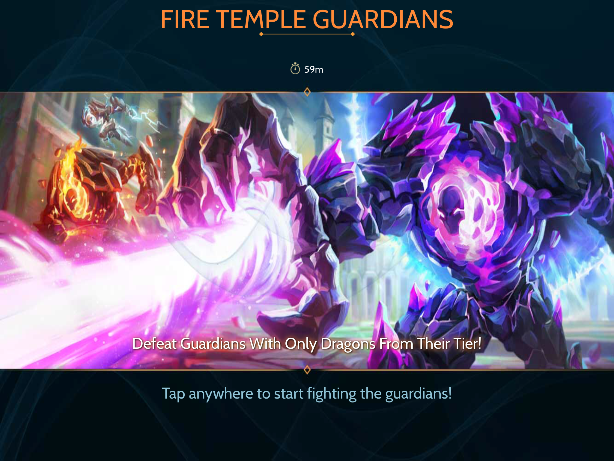 Temple Raid - Temple Entrance Screen