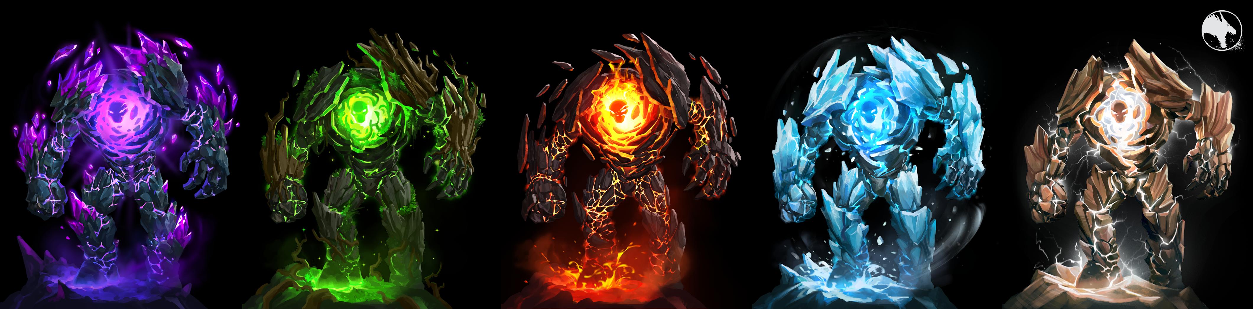 Temple Raid - Elemental Guardians