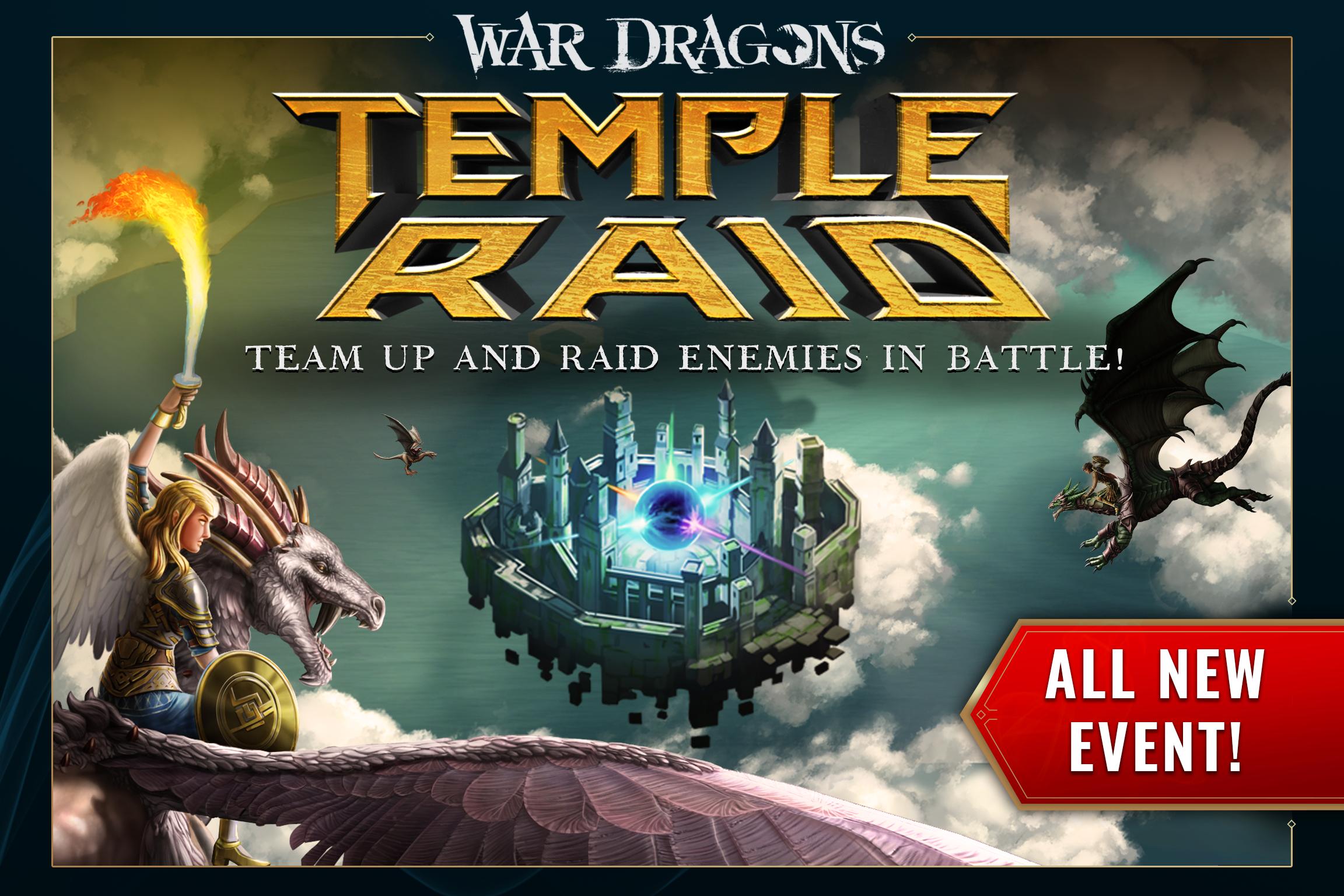 War Dragons - Temple Raid