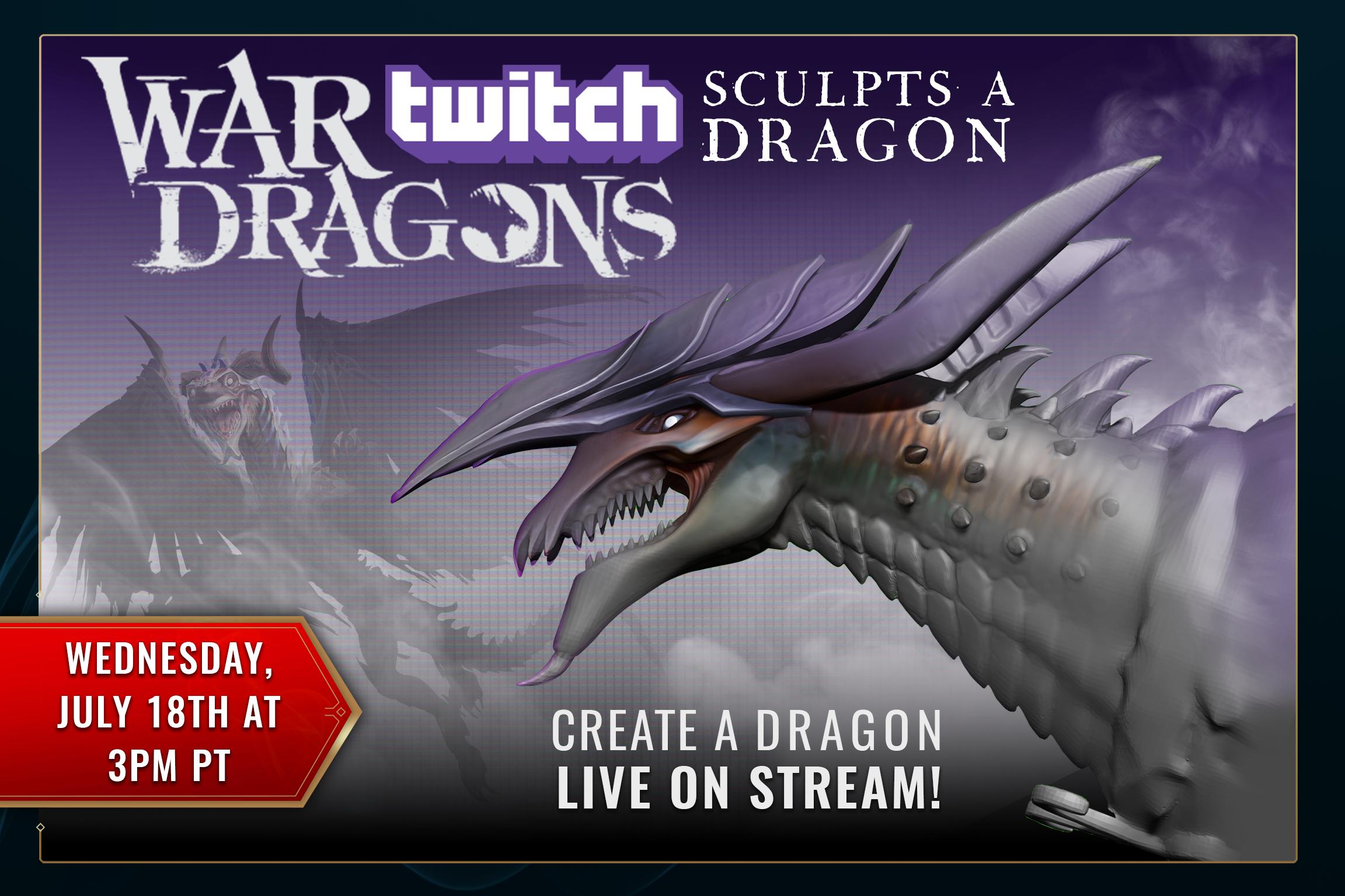 Twitch Sculpts A Dragon 2018