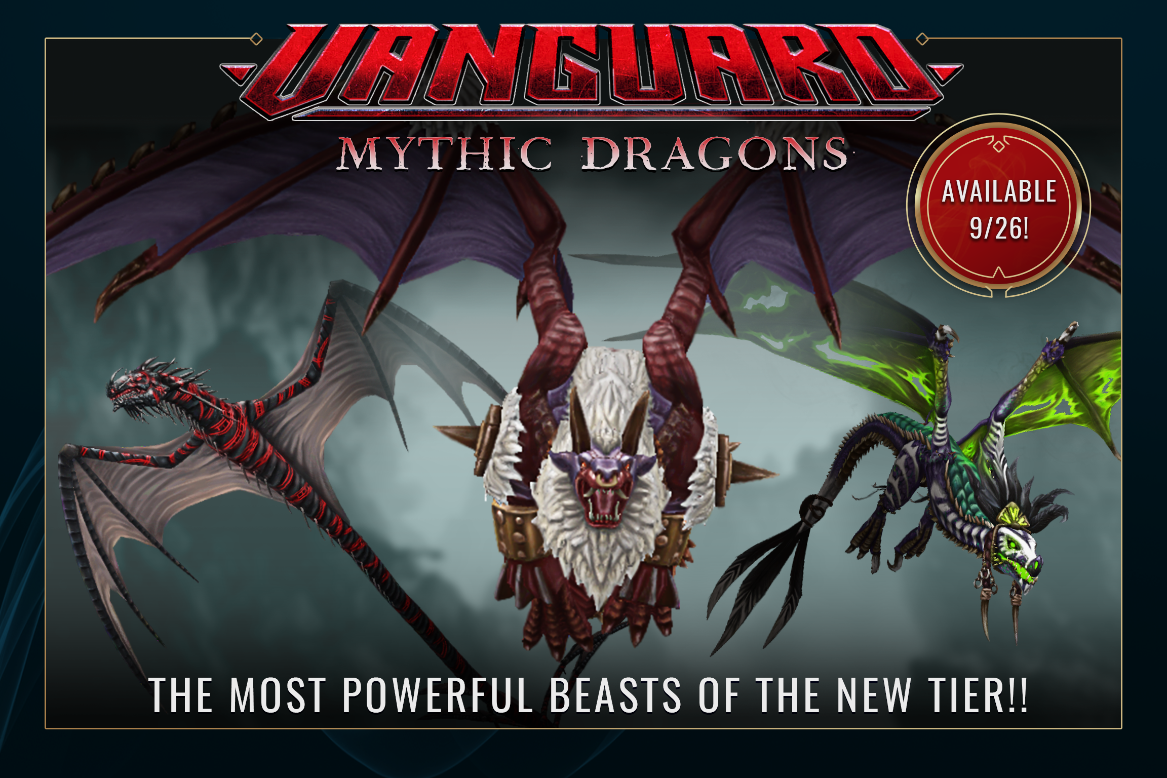 Vanguard Tier - Mythic Dragons