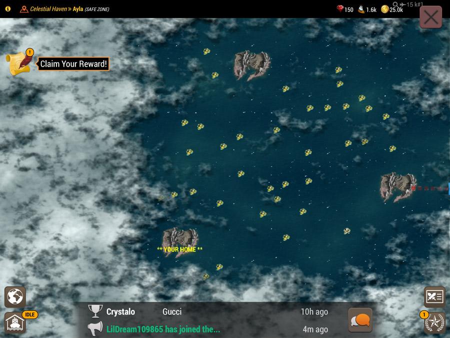 War Dragons World Map Islands