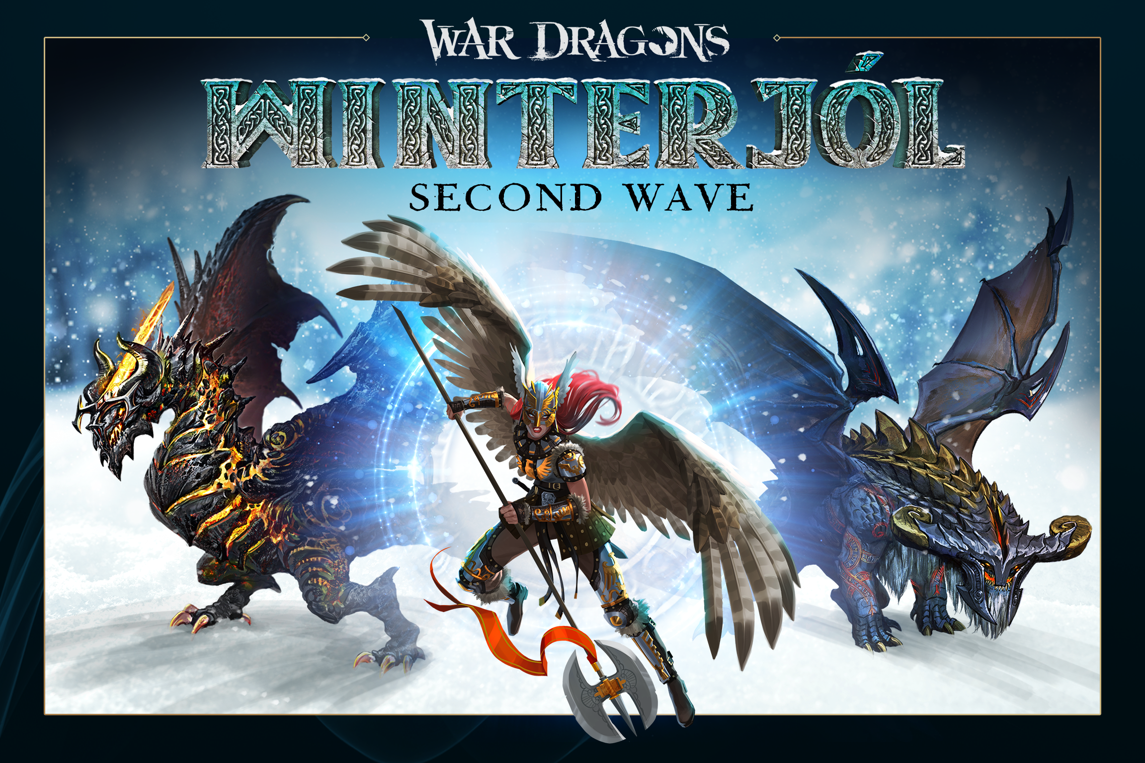 War Dragons - Winterjol Wave 2
