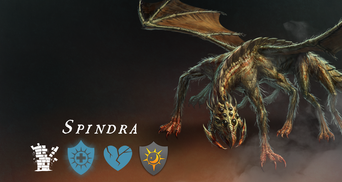 War Dragons - Nightmare Collection - Spindra