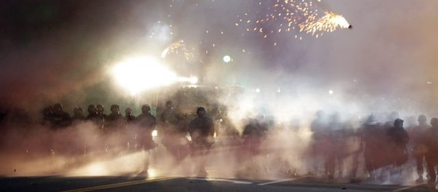 Even the Army's Crowd-Control Rulebook Says Ferguson Police Tactics Were Dumb
