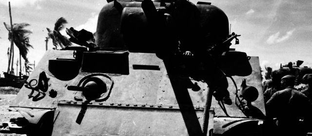 Sherman Tanks Battled Banzai Charges at Tarawa