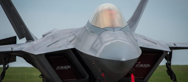 Teams of F-22 Stealth Fighters Troll Russia