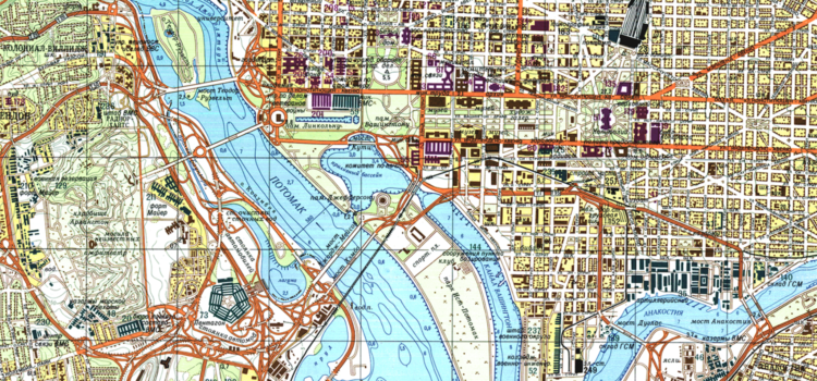 Take Another Look at This Incredibly Detailed Soviet Map of ...