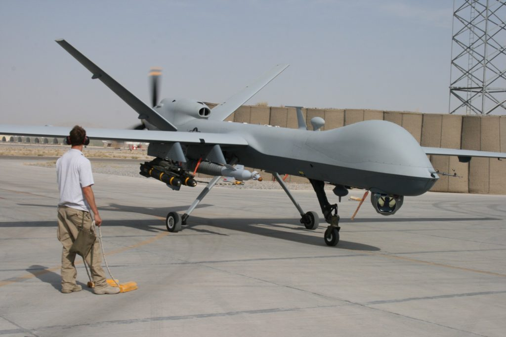 Above An Air Force Reaper In Afghanistan David Axe Photo At Top Avenger General Atomics