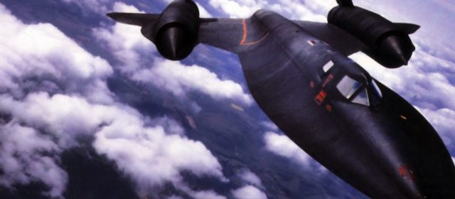The SR-71 Spy Plane Was So Fast, It Outran Every Missile Fired at It