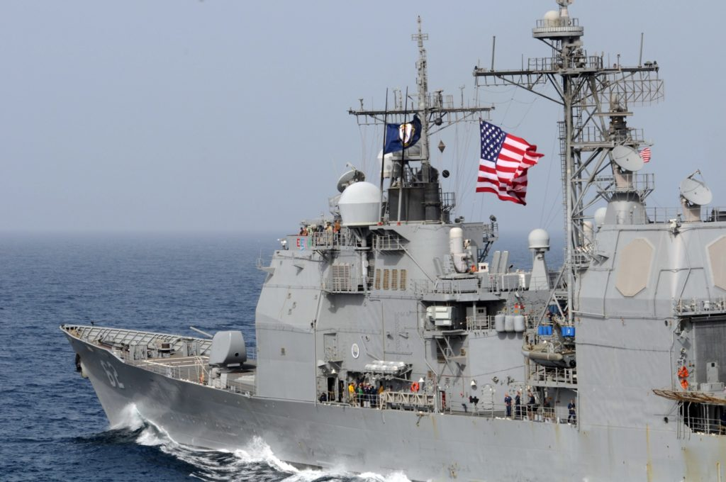 The U S  Navy's New Cruiser Is … the Navy's Old Cruiser | War Is Boring