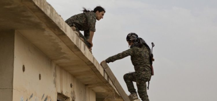 On the Lonely Iraq-Syria Border, Snipers Battle for a Strategic Road