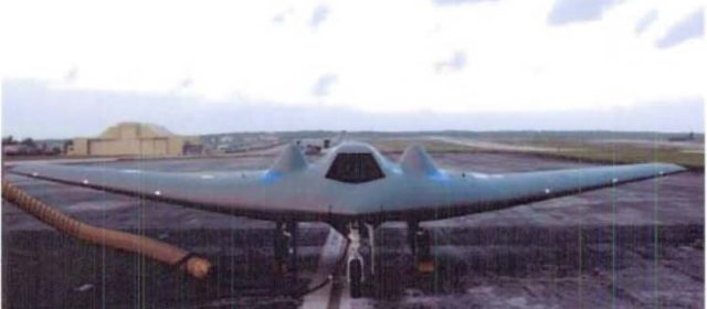 U.S. Stealth Drone Helped Test Huge Bomb