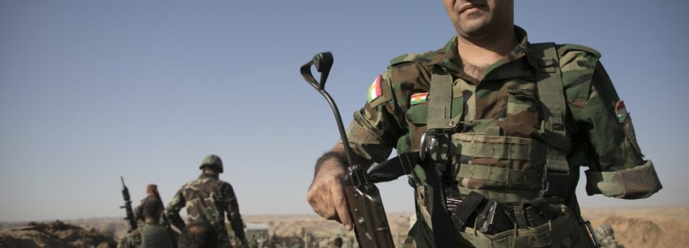 Kurdish Troops Halt Iraqi Forces on the Kurdistan Border