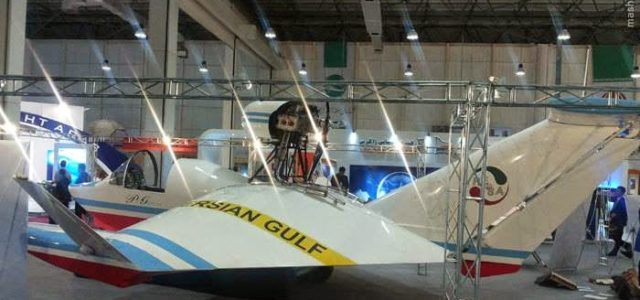 Iran's Revolutionary Guards Corps Has Sea-Skimming Flying Boats