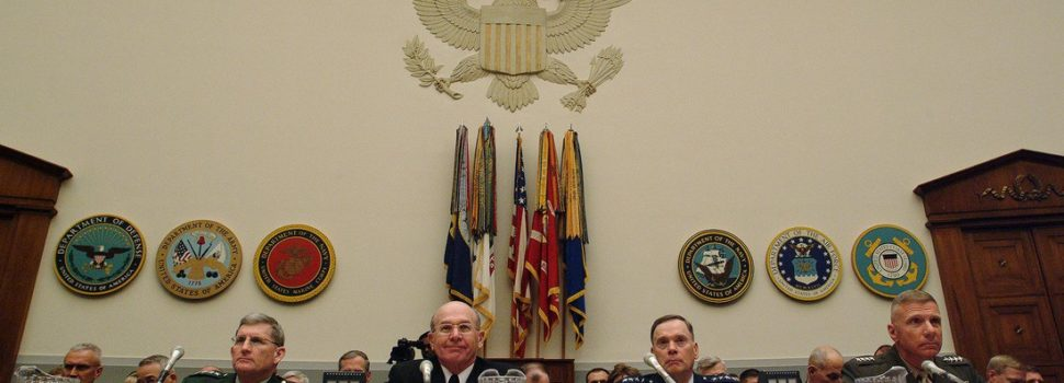 Revolving Door Keeps Spinning with Armed Services Committee Staff
