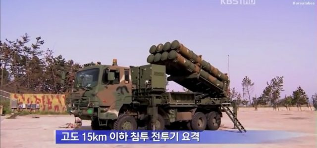 South Korea Deploys Its Own Missile Shield