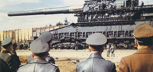 A Nazi War Train Hauled the Biggest Gun Ever Made