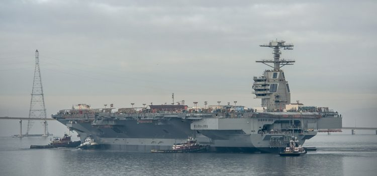 The U.S. Navy Isn't Revealing How Much Its New Carriers Really Cost