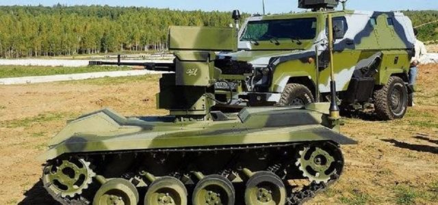 Russia Presses Ahead With Combat Robots