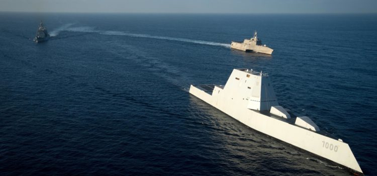 The U.S. Navy Is Turning Its Stealth Destroyers Into Ship-Killers