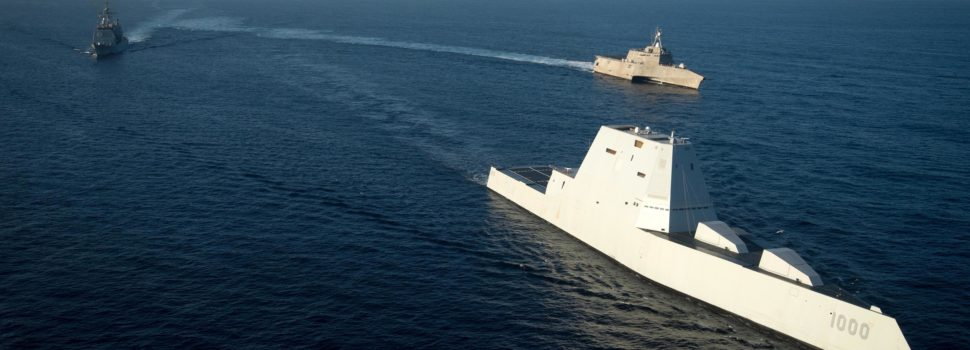 the u s navy is turning its stealth destroyers into ship killers
