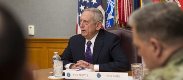 As U.S. Defense Secretary, James Mattis Plots His Own Course