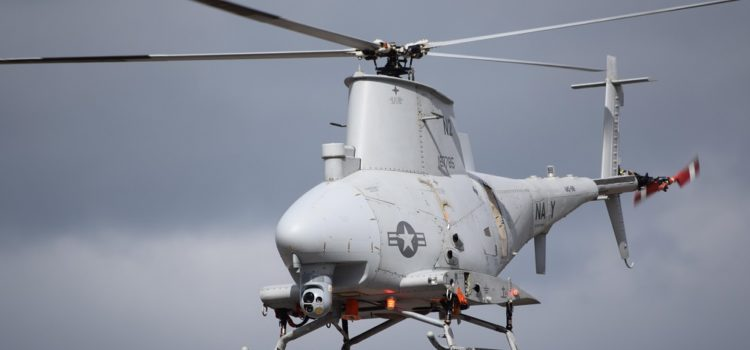 The U.S. Navy Turned Its Drone Helicopter Into a Mine-Detector