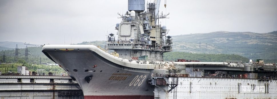 Cash-Strapped Russia Can't Afford to Modernize Its Only Aircraft Carrier