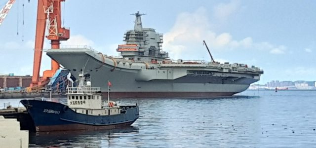 China's Second Aircraft Carrier Sails Closer to Joining the Fleet