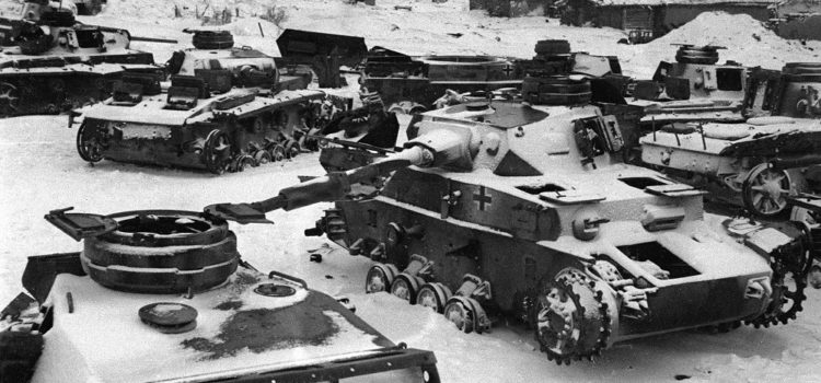 A German Tank Battalion Fought to the End in the Icy Hell of Stalingrad