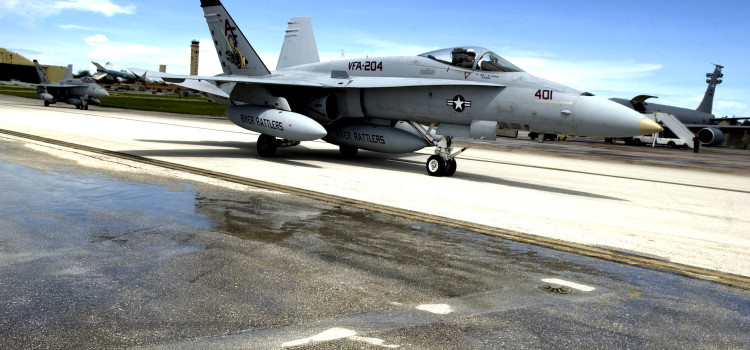 The U.S. Navy Reserve's Fighter Jets Are Going Extinct