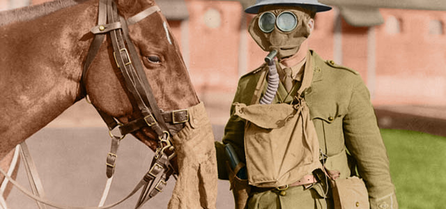 Even Animals Needed Gas Masks in World War I