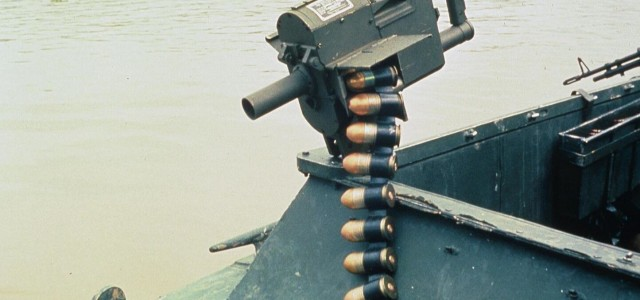 The U.S. Navy Had a Weird, Hand-Cranked Grenade Launcher