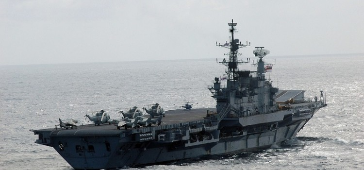 Say Farewell to the World's Oldest Aircraft Carrier