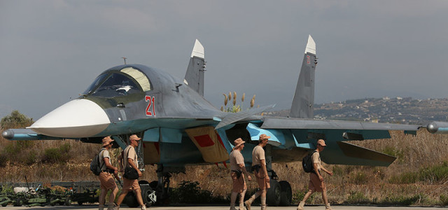 Russian Bombing Helps Islamic State Advance