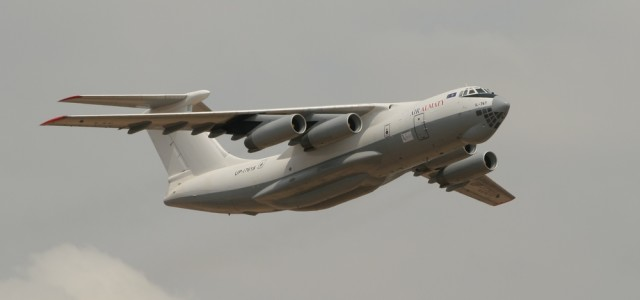 What's Up With Russia's Mysterious Il-76 Airlifter Over Syria?