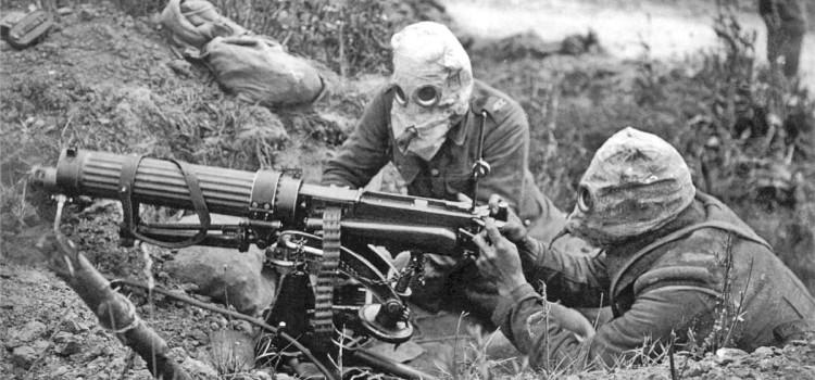 How Machine Guns Invented Modern War