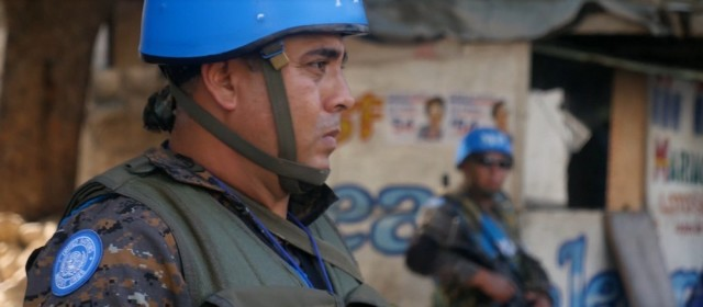 U.N. Troops Safeguard Haiti's Election