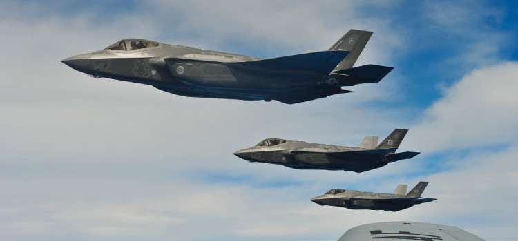 F-35A Stealth Jet Finally Shows Off Gun in Flight