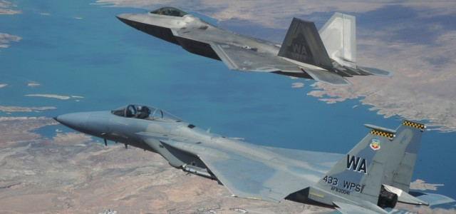 F-15s' New Role — Flying Arsenals for F-22s