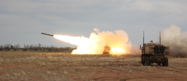 The U.S. Army Hurls Hundreds of Rockets at Islamic State