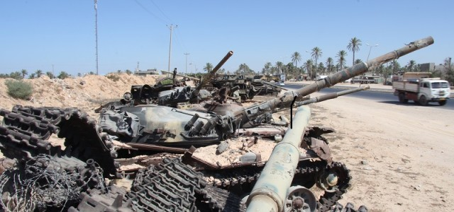 Warring Factions Really Like Libya's Instability