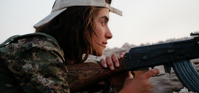 The Women Warriors Who Freak Out the Islamic State