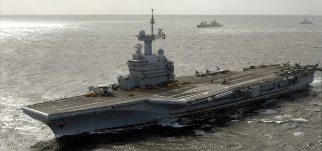 French Aircraft Carrier Back at War