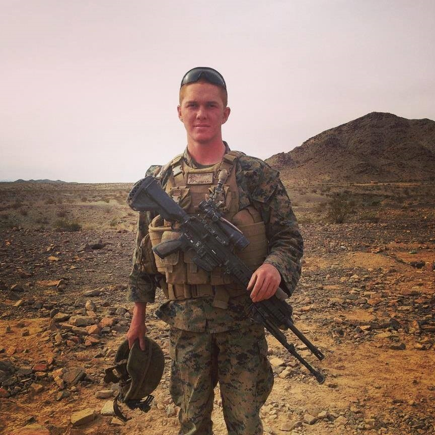 Lance Cpl. Matthew Determan. Photo via Facebook