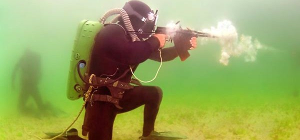 Underwater Firearms Are a Thing, and Russia Is Really Into Them