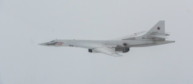 Royal Air Force Scrambles to Intercept Russian Bombers