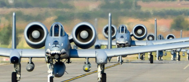 A-10s Blast Islamic State Militants as Ceasefire Takes Effect